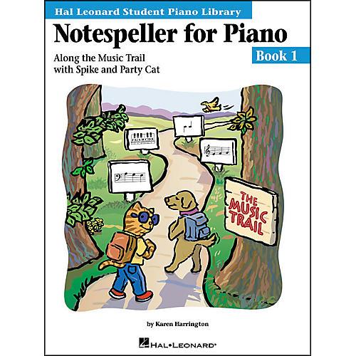 Hal Leonard Notespeller For Piano Book 1 Hal Leonard Student Piano Library