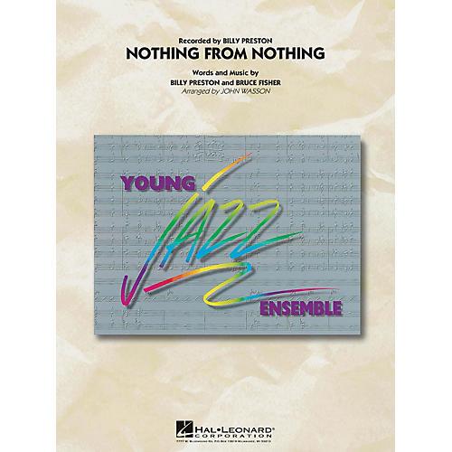 Hal Leonard Nothing from Nothing Jazz Band Level 3 Arranged by John Wasson-thumbnail