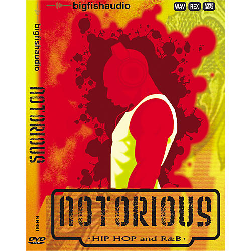 Big Fish Notorious Hip Hop and R&B Sample Library - DVD