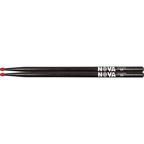 Vic Firth Nova Hickory Drumsticks Black 5AN