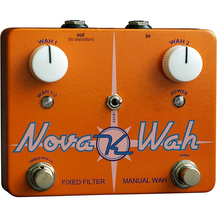 KeeleyNova Wah Guitar Effects Pedal