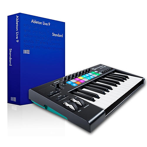 Novation Novation Launchkey 25 MIDI Controller with Ableton Live 9.5 Standard-thumbnail