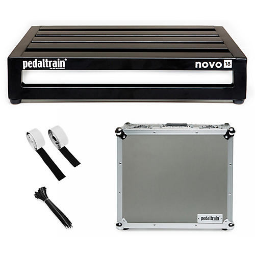 Pedaltrain Novo 18 Pedal Board with Tour Case