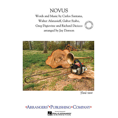Arrangers Novus Marching Band Level 3 by Carlos Santana Arranged by Jay Dawson-thumbnail