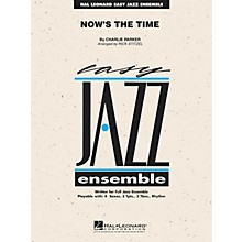 Hal Leonard Now's the Time Jazz Band Level 2 by Charlie Parker Arranged by Rick Stitzel