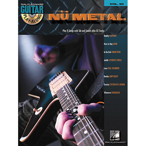 Hal Leonard Nu Metal Guitar Play-Along Series Volume 50 Tab Songbook with CD