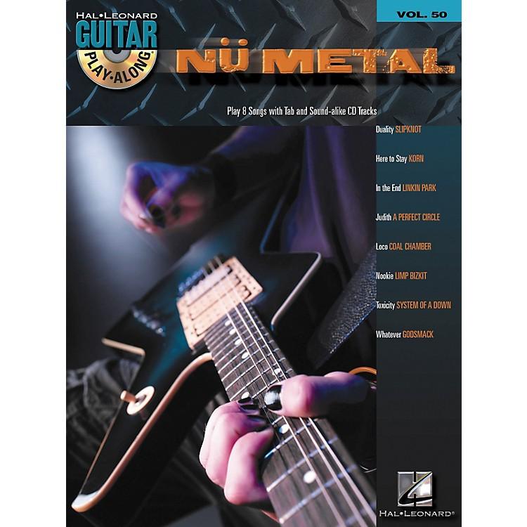 Hal LeonardNu Metal Guitar Play-Along Series Volume 50 Tab Songbook with CD
