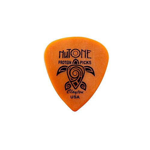 Clayton NuTone Standard Protein Guitar Pick Medium