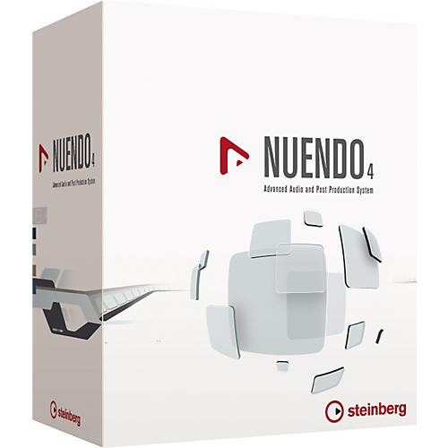 Steinberg Nuendo 4 Advanced Audio and Post Production System Educational Edition-thumbnail