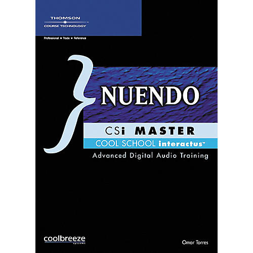 Course Technology PTR Nuendo CSi Master (CD-ROM)