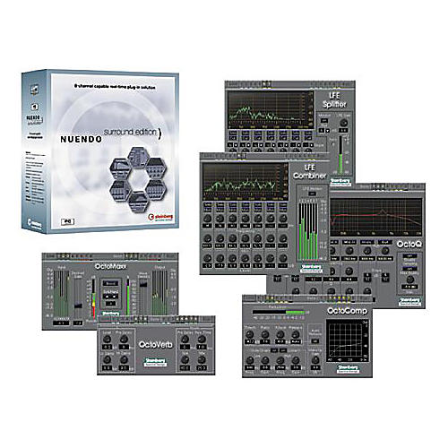 Steinberg Nuendo Surround Edition Plug-Ins