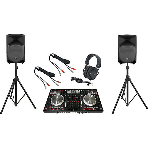 Pioneer Numark NS6 / Mackie Thump TH-12A DJ Package