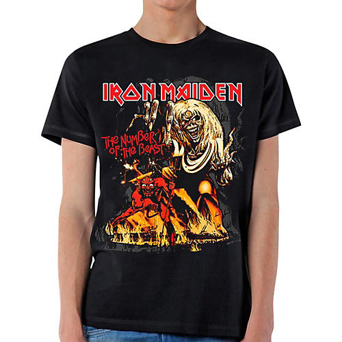 Iron Maiden Number of the Beast T-Shirt-thumbnail