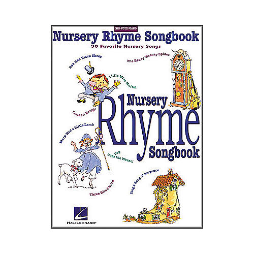 Hal Leonard Nursery Rhyme Songbook for Big Note Piano