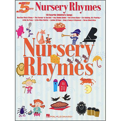 Hal Leonard Nursery Rhymes for Five Finger Piano-thumbnail