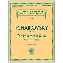 G. Schirmer Nutcracker Suite 1 Piano/ 4 Hands with CD Schirmer Library Book/CD By Tchaikovsky