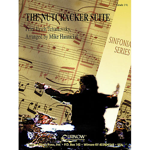Curnow Music Nutcracker Suite (Grade 1.5 - Score Only) Concert Band Level 1.5 Arranged by Mike Hannickel-thumbnail