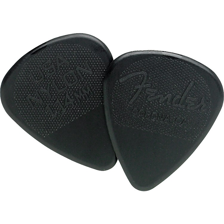 Fender Nylon Guitar Pick 12 Pack 1.14 12 Pack