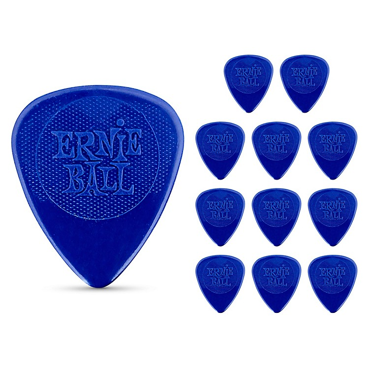 Ernie Ball Nylon Guitar Picks Heavy 1 Dozen