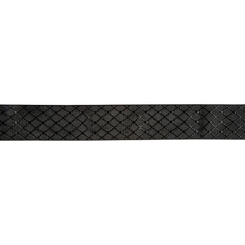 Fender Nylon Jacquard Guitar Strap Satin Black Diamond 2 in.