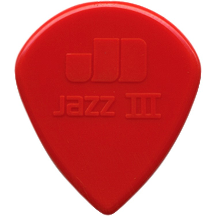 Dunlop Nylon Jazz III Guitar Pick Black 6-Pack