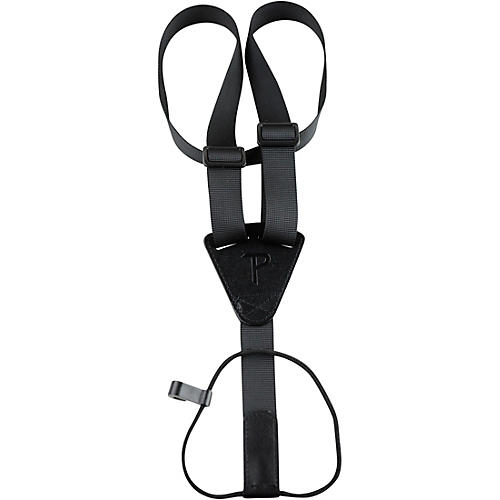 Perri's Nylon Ukulele Strap Fully Adjustable With Sound Hole Attachment