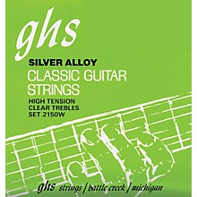 GHS Nylon and Silver Classical Guitar Strings - Tie End