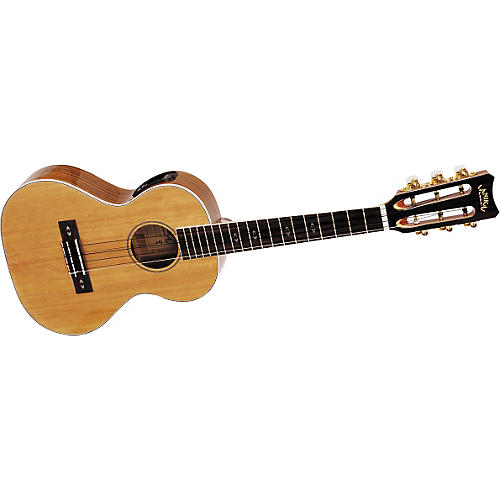 Lanikai O-6 Tenor 6-String Acoustic-Electric Ukulele-thumbnail
