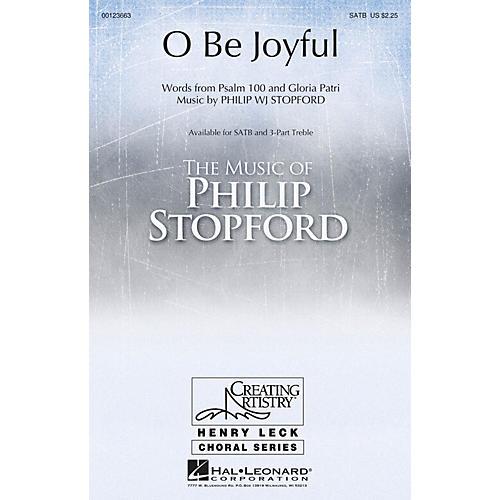 Hal Leonard O Be Joyful SATB composed by Philip Stopford-thumbnail