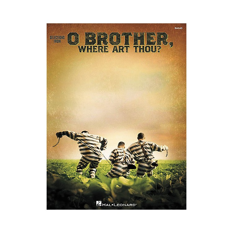 Hal Leonard O Brother, Where Art Thou? Banjo Book