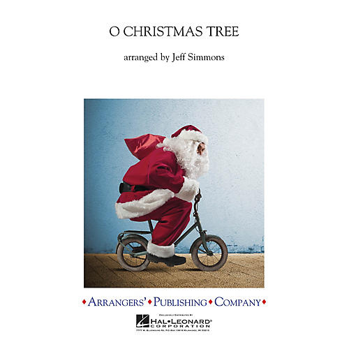 Arrangers O Christmas Tree Concert Band Level 3 Arranged by Jeff Simmons-thumbnail