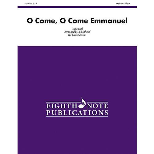 Alfred O Come, O Come Emmanuel Brass Quintet Score & Parts