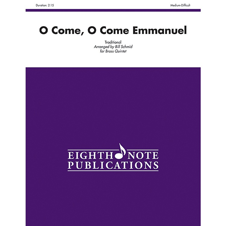 AlfredO Come, O Come Emmanuel Brass Quintet Score & Parts