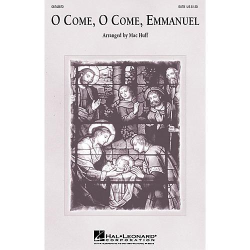 Hal Leonard O Come, O Come, Emmanuel SAB Arranged by Mac Huff