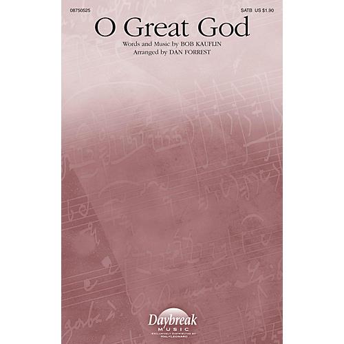 Daybreak Music O Great God SATB arranged by Dan Forrest-thumbnail