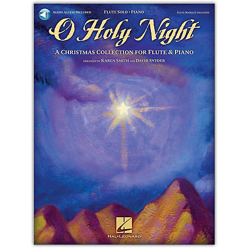 Hal Leonard O Holy Night (A Christmas Collection for Flute & Piano) Book/Online Audio