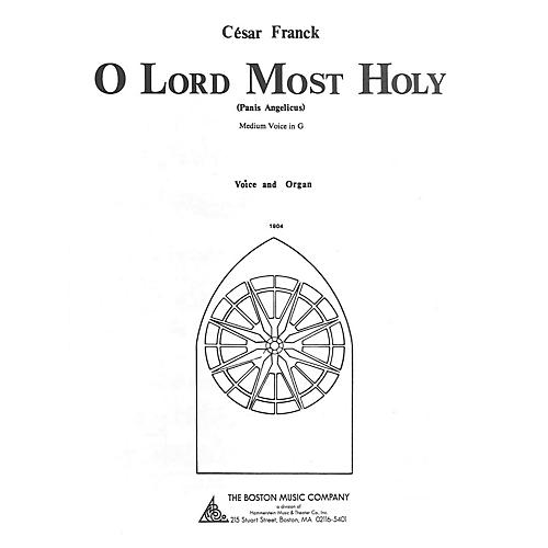 Music Sales O Lord Most Holy Music Sales America Series