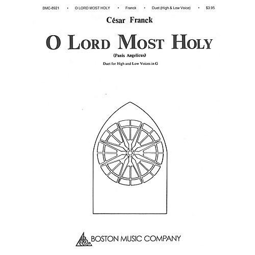 Boston Music O Lord Most Holy (Panis Angelicus) Music Sales America Series  by César Franck-thumbnail