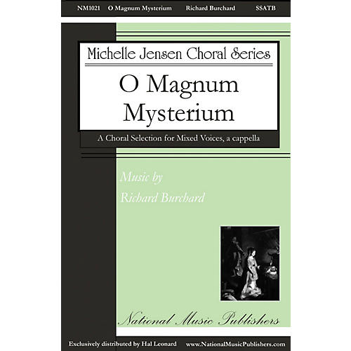 National Music Publishers O Magnum Mysterium SSATB A Cappella composed by Richard Burchard-thumbnail