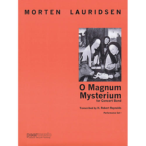 Peer Music O Magnum Mysterium (for Concert Band) Concert Band Level 4 Composed by Morten Lauridsen-thumbnail