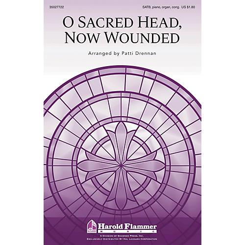Shawnee Press O Sacred Head, Now Wounded SATB, PIANO AND ORGAN arranged by Patti Drennan-thumbnail