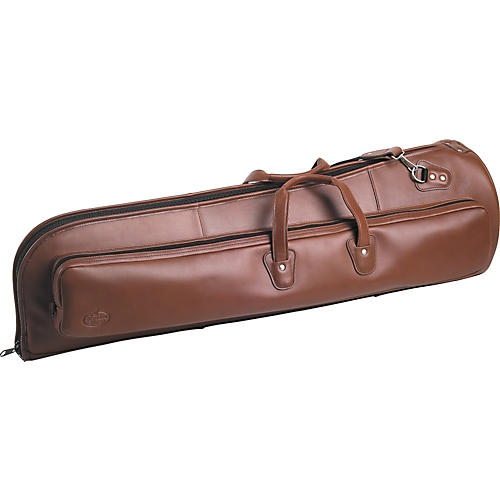 Reunion Blues O Series Leather Tenor Trombone Bag Chestnut Brown