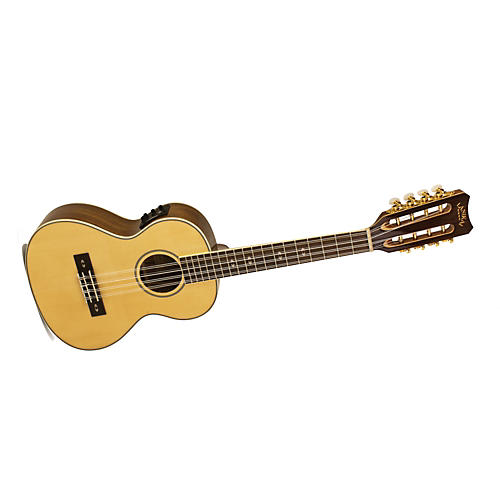 Lanikai O Series O-8EK Ovangkol 8-String Tenor Acoustic-Electric Ukulele with Fishman Kula Electronics