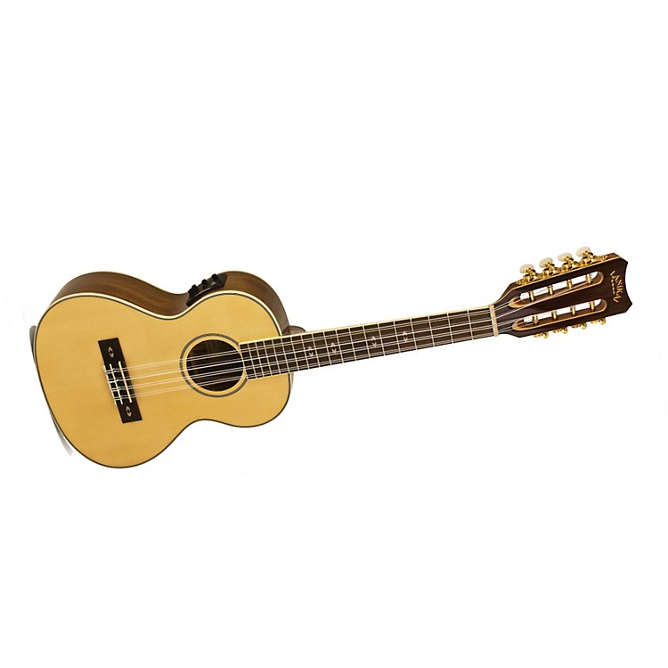 Lanikai O Series O-8EK Ovangkol 8-String Tenor Acoustic-Electric Ukulele with Fishman Kula Electronics
