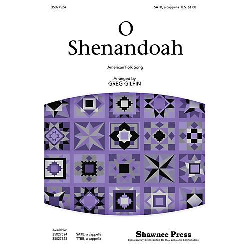 Shawnee Press O Shenandoah SATB a cappella arranged by Greg Gilpin-thumbnail