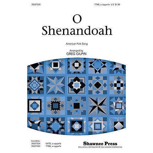 Shawnee Press O Shenandoah TTBB A Cappella arranged by Greg Gilpin-thumbnail