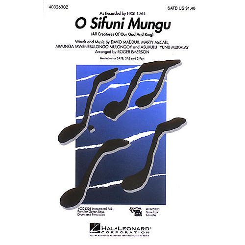 Hal Leonard O Sifuni Mungu (All Creatures of Our God and King) SSAA by First Call Arranged by Roger Emerson-thumbnail