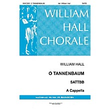 National Music Publishers O Tannenbaum SATB a cappella arranged by William D. Hall