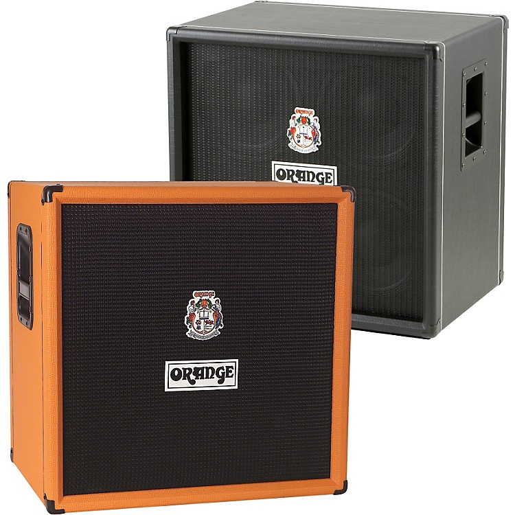 Orange Amplifiers OBC Series OBC410 600W 4x10 Bass Speaker Cabinet Black