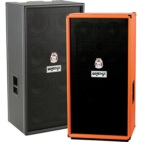 Orange Amplifiers OBC Series OBC810 8x10 Bass Speaker Cabinet Black